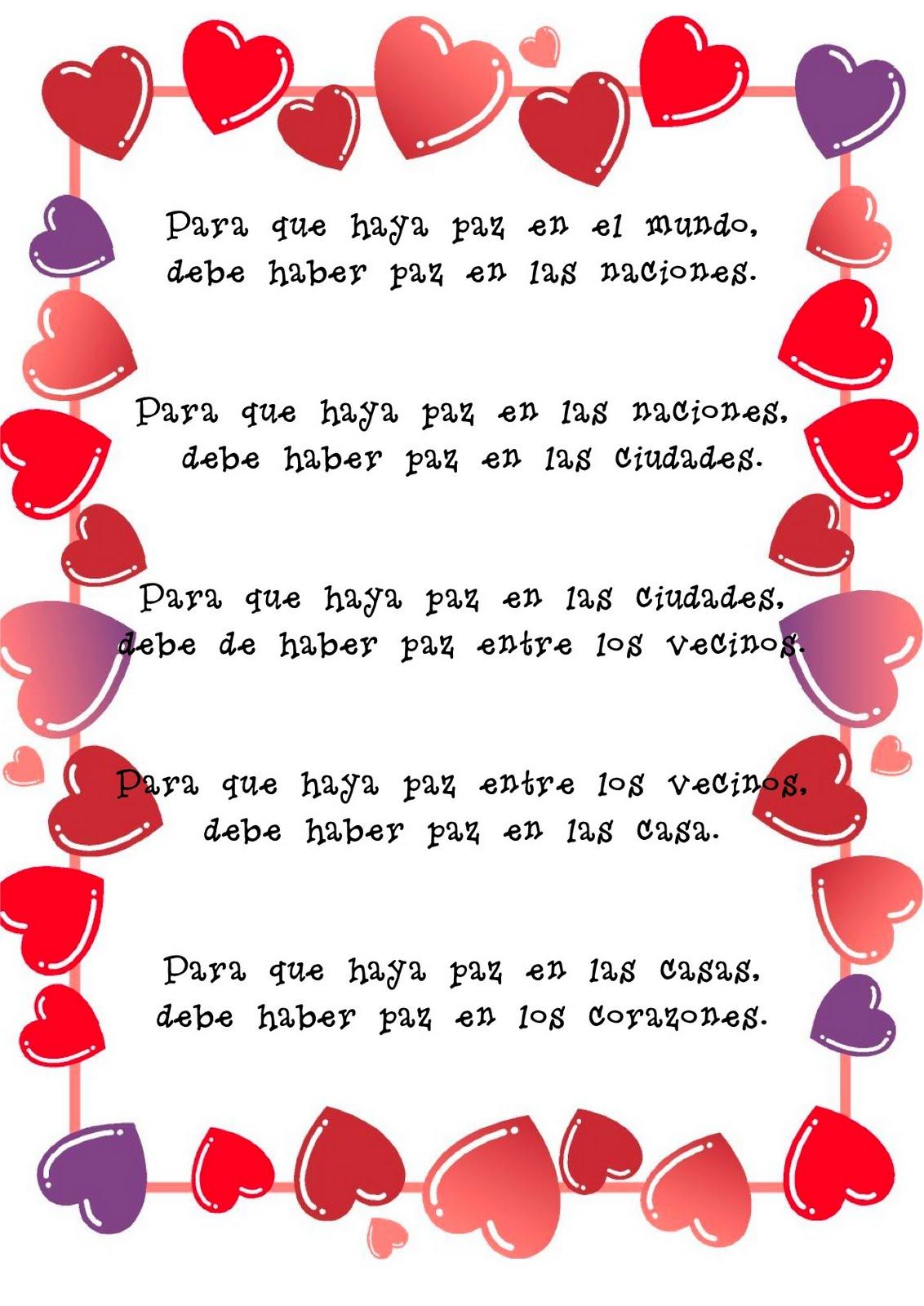 letra de un poema de: